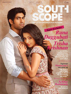 Rana D. & Trisha Krishnan Photoshoot for SouthScope Magazine