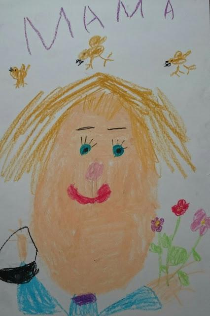Эвелина Васильева.Портрет мамы