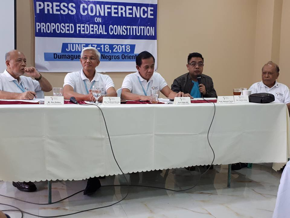 Concom sees progressive Philippines with Federalism