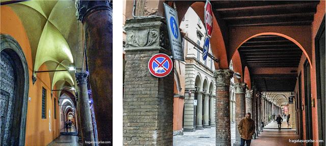 Via Oberdan, Centro Histórico de Bolonha