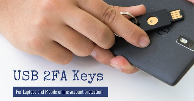 USB 2FA keys laptop and mobile review