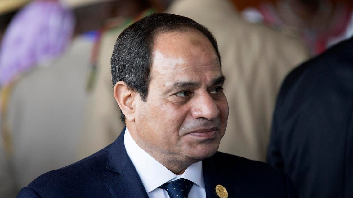 Sisi announces the end of the Suez ship crisis