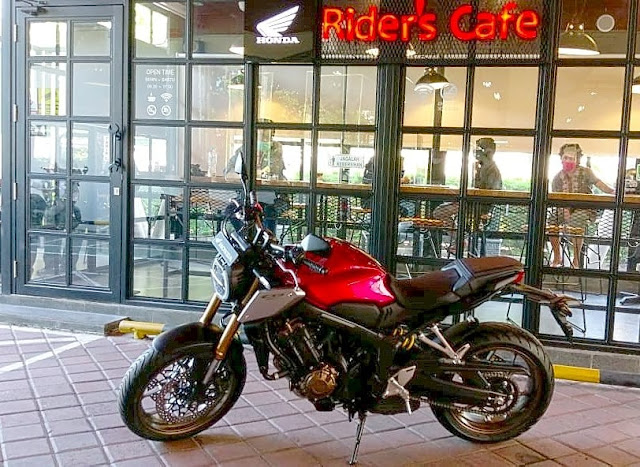 price of Honda CB 650 R neo cafe