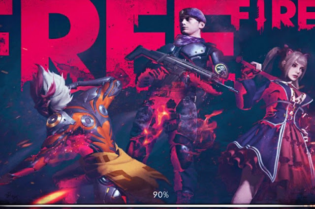 Garena Free Fire Characters.