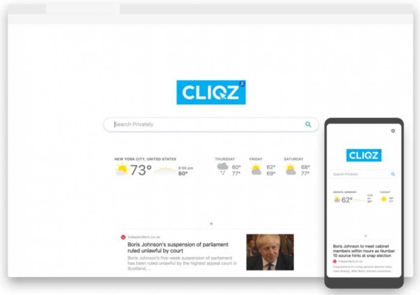cliqz web browser apk