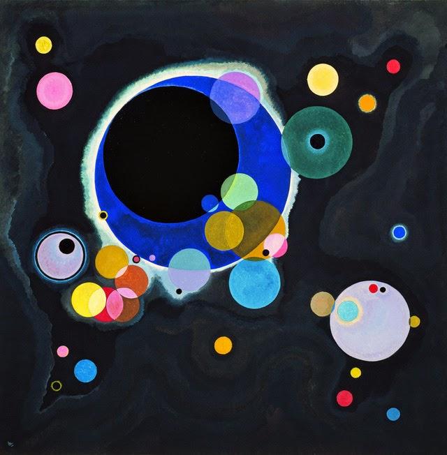 Círculos - Kandinsky e suas pinturas | O pioneiro da arte abstrata