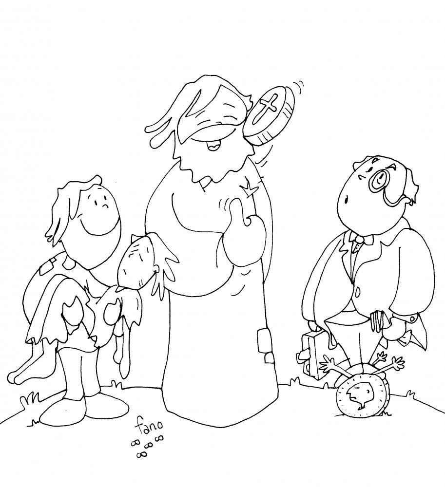 La Catequesis (El blog de Sandra): Nuevo Dibujo de Fano 25º Domingo ...