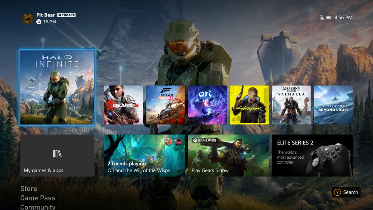 La nuova interfaccia di Xbox è disponibile per tutti