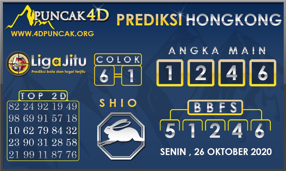 PREDIKSI TOGEL HONGKONG PUNCAK4D 26 OKTOBER 2020