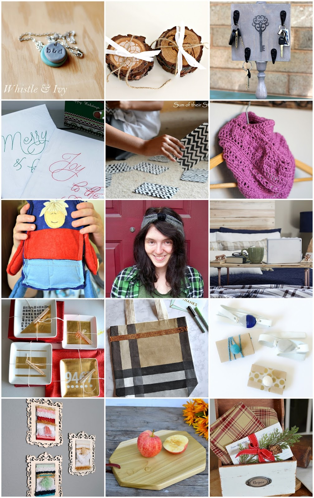 A Handmade Christmas- 15 DIY Holiday Gift Ideas
