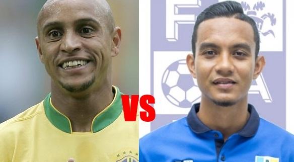 Mana Terbaik Sepakan Percuma Faiz Subri atau Roberto Carlos?