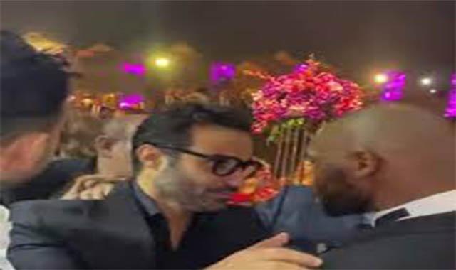 مشاجرة بالأيدي بين الفنان أحمد فهمي ونجم الزمالك شيكابالا