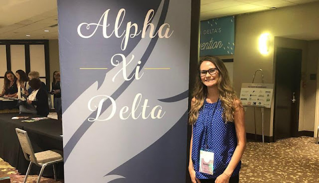 Monmouth's Alpha Xi Delta chapter receives national awards for philanthropy, academic excellence, Metamora Herald