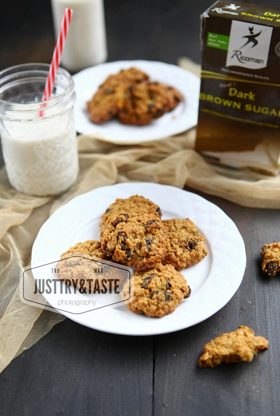 Resep Oatmeal Raisin Cookies