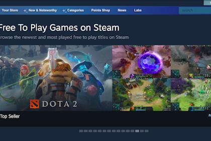 Cara dan Solusi Praktis Main Game PC Gratis di Steam