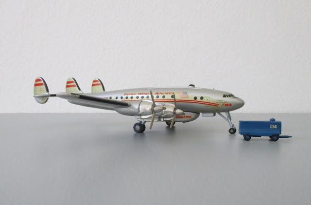 1/144 1/200 Lockheed L-749 Constellation diecast metal aircraft miniature