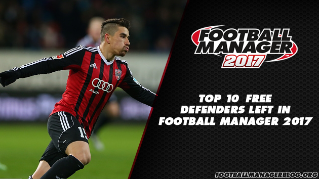 Top 10 Free Defenders Left in Football Manager 2017