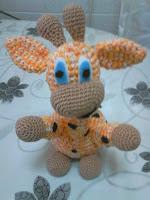 jirafa amigurumi