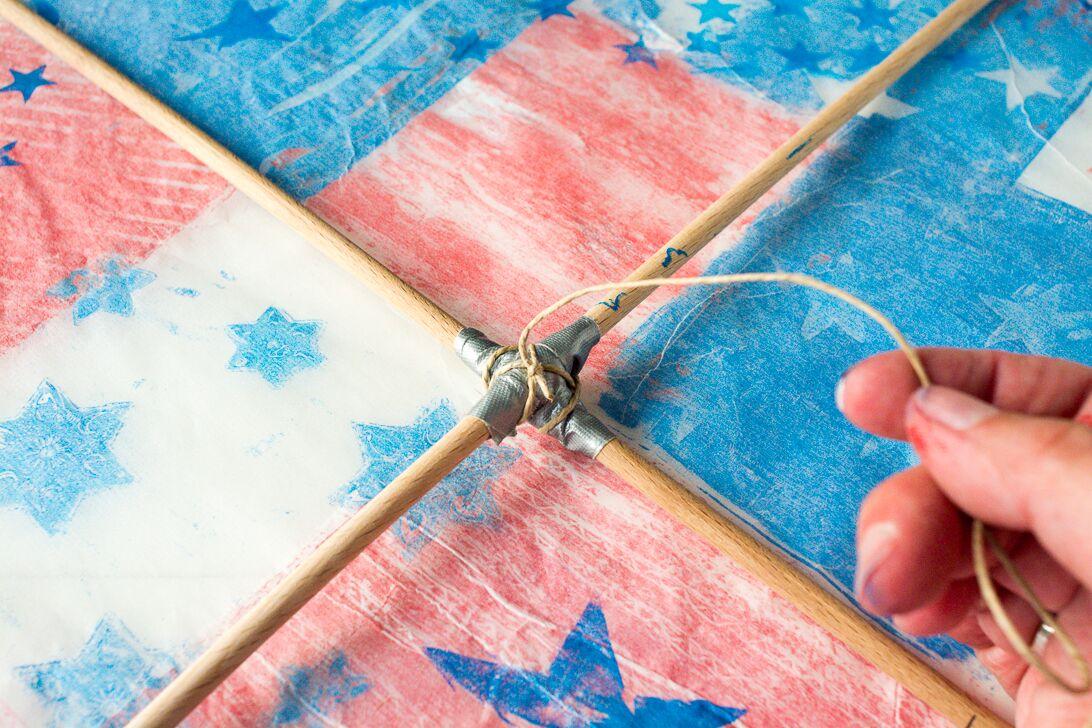 Printing With Gelli Arts 174 Gelli 174 Printed Diamond Kite