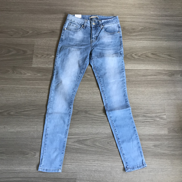 My new winter wardrobe with Look of the Day basic skinny jeans