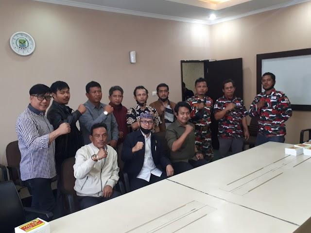 Marcab LMP Kota Bekasi Audiensi ke DPRD Kota Bekasi
