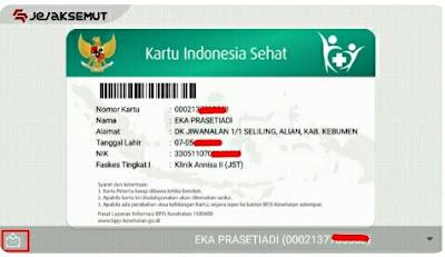 cetak kartu bpjs kesehatan via mobile jkn