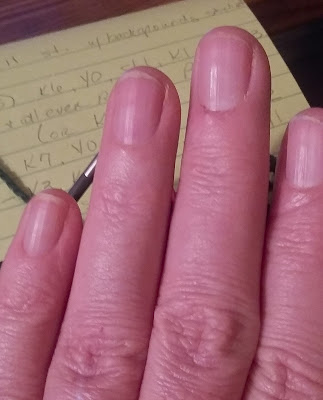 Started using Biotin to help my nails grow.