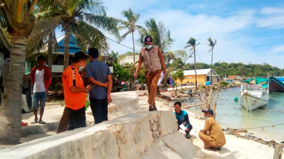 Akibat Abrasi, Tanggul di Menara Indah Bontomatene Alami Kerusakan Cukup Parah
