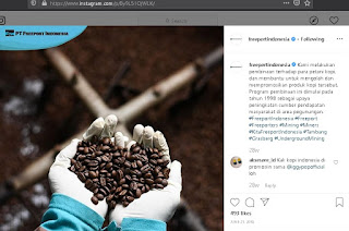 CSR Program Pertanian, sumber: Instagram Official PTFI
