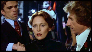 Faye Dunaway and Rene Auberjonois