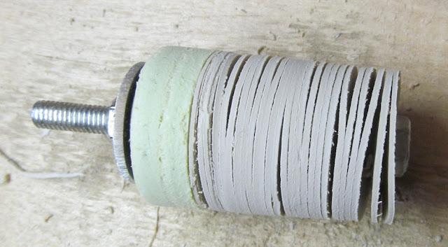 изготовление пластиковых шайб в домашней мастерской