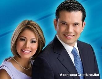 Pastor Claudio Martínez y su esposa Lucy