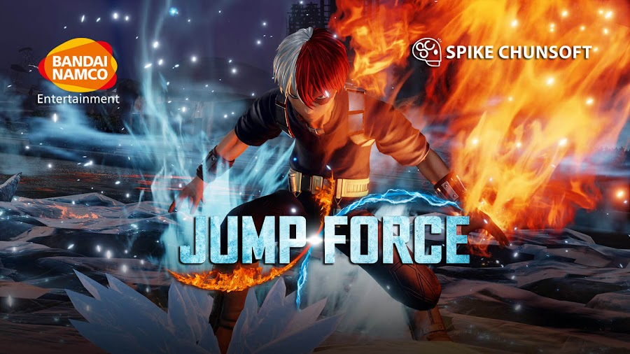 jump force shoto todoroki dlc release date may 26 my hero academia crossover fighting game spike chunsoft bandai namco entertainment pc steam ps4 xb1