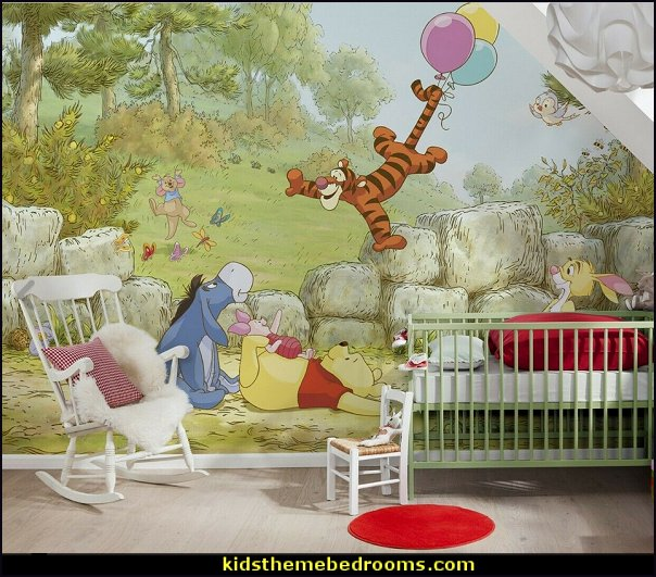 Disney Winnie The Pooh  Tiger  wallpaper mural winnie the pooh bedroom wall decor