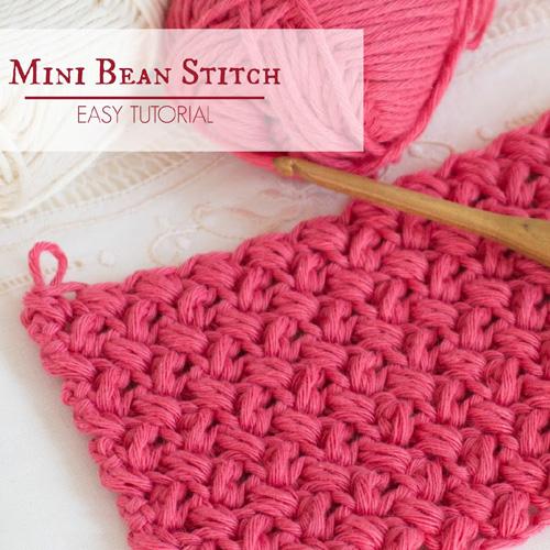 Mini Bean Stitch - Easy Tutorial