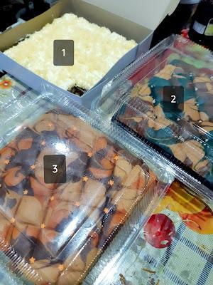 Order Kek Marble & Kek Batik Cheese Untuk Aidilfitri