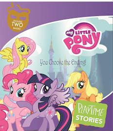 MLP Playtime Stories Book Media