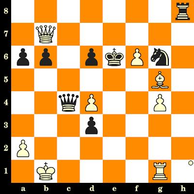 Les Blancs jouent et matent en 3 coups - Evgeny Bareev vs Viktor Gavrikov, Minsk, 1987