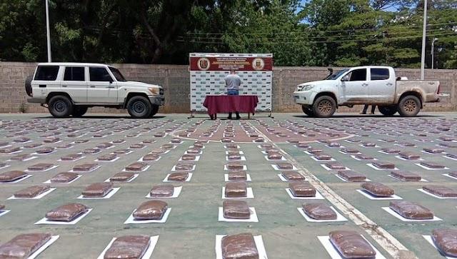 Efectivo del CICPC preso transportando 773 panelas de drogas en el estado Lara