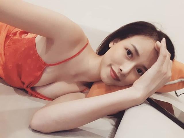"""""""Hoa hậu tỏ tình Lâm Tây"""" tiết lộ """"thả rông vòng 1"""" là cách để làm nở ngực"""