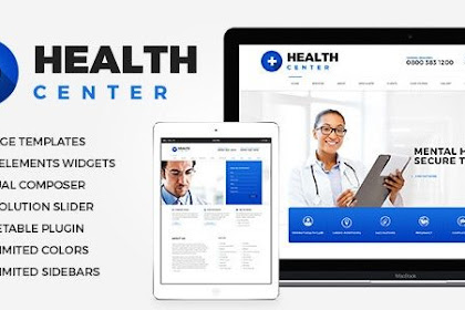 Download Health Center v2.1 Nulled Free - Medical WordPress theme