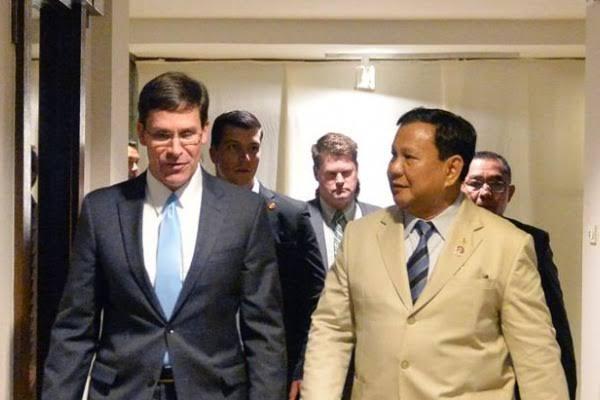 Menhan AS Singgung Penegakan HAM saat Bertemu Prabowo di Pentagon