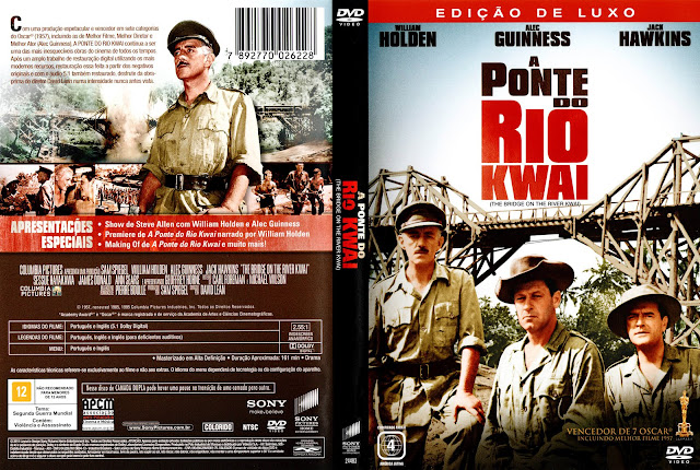 Papo de Cinema: A PONTE DO RIO KWAI (The Bridge on the River Kwai) 1957