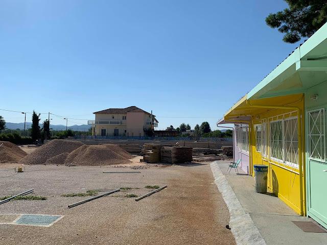 Με γρήγορους ρυθμούς συνεχίζονται οι εργασίες στο δημοτικό σχολείο Ανυφίου