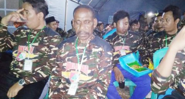 Demi Ikut Banser, Pemuda Papua Menyeberang ke Pulau Jawa