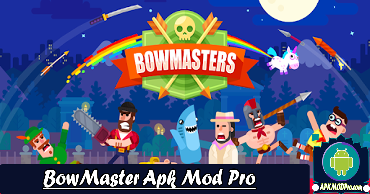 Download Bowmasters 2.12.7 MOD Apk (Unlimited Coins)Terbaru 2020