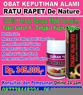 Mengatasi Keputihan Dengan Obat Herbal De Nature