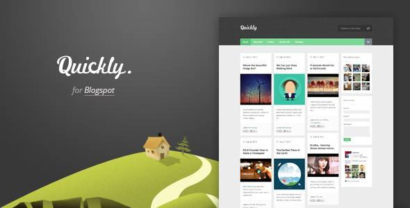 Quickly - Responsive Blogger Template - Blogging