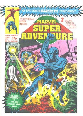 Marvel Super Adventures #5, the Black Panther