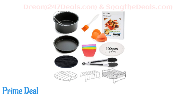 7 inch air fryer accessories kit 34%OFF